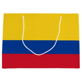 Colombia Flag Large Gift Bag
