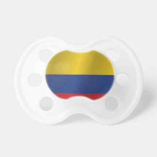 Colombia flag pacifier