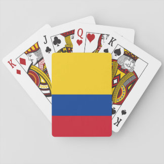 Colombia Flag Poker Deck