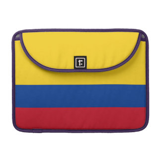 Colombia Flag Sleeve For MacBooks