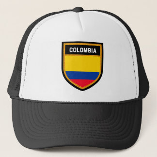 Colombia Flag Trucker Hat