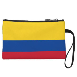 Colombia Flag Wristlets Wallet