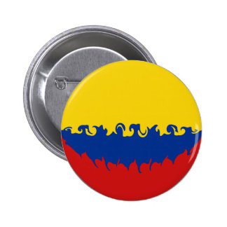 Colombia Gnarly Flag Pins