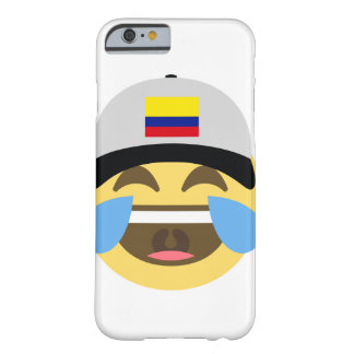 Colombia Hat Laughing Emoji Barely There iPhone 6 Case