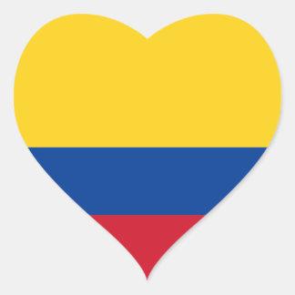 colombia heart sticker