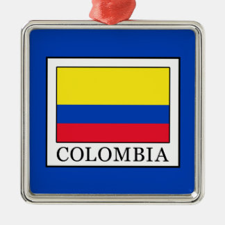 Colombia Metal Ornament