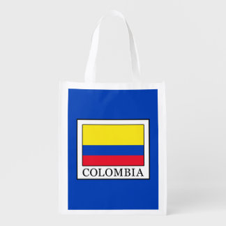 Colombia Reusable Grocery Bag