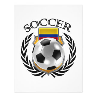 Colombia Soccer 2016 Fan Gear 21.5 Cm X 28 Cm Flyer