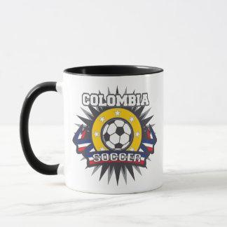 Colombia Soccer Burst Mug