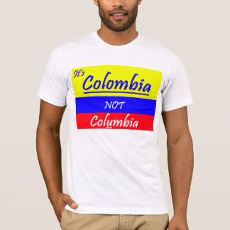 Colombia tee not Columbia