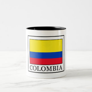 Colombia Two-Tone Coffee Mug