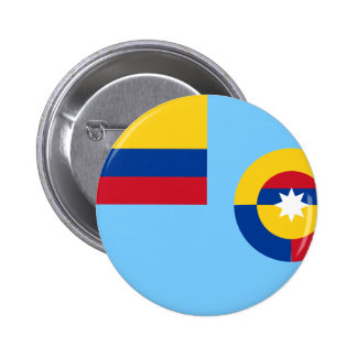 Colombian Air Force, Colombia flag 6 Cm Round Badge