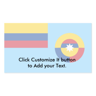 Colombian Air Force, Colombia flag Business Cards