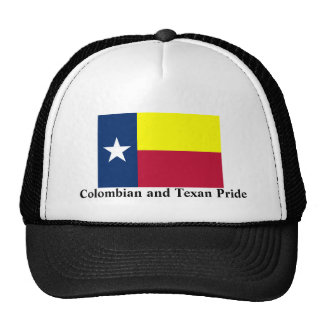 Colombian and Texan Pride Cap