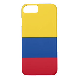 colombian flag Apple iPhone 8/7, barely there case