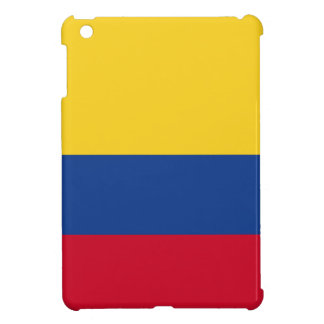 Colombian flag iPad mini case
