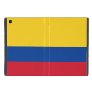 colombian flag iPad Mini Case with No Kickstand
