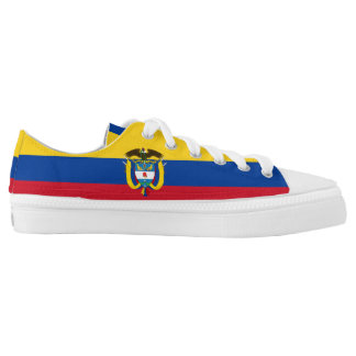 Colombian Flag Low Tops