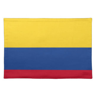Colombian flag placemat