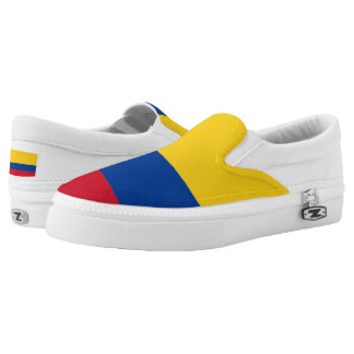 Colombian Flag Slip-On Shoes