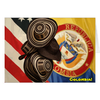 Colombian Friendship Card