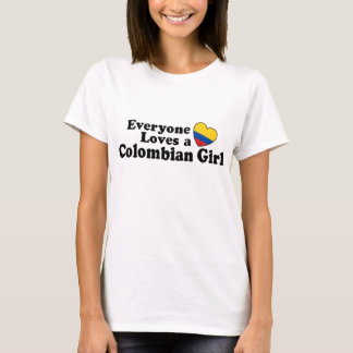 Colombian Girl T-Shirt