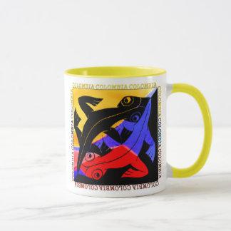 Colombian Lizard Coffee Cup