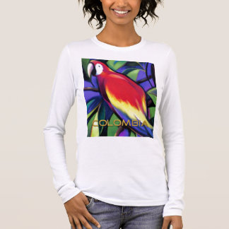 Colombian Parrot Long Sleeve T-Shirt