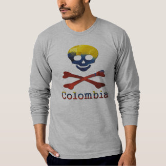 Colombian Skull & Crossbones T-Shirt