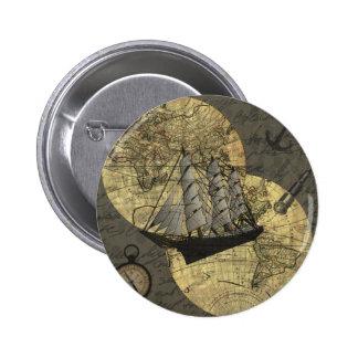 Colombo 6 Cm Round Badge