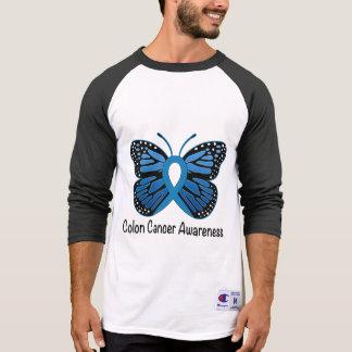 Colon Cancer Awareness: Butterfly T-Shirt
