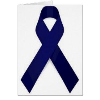 Colon Cancer Awareness Card