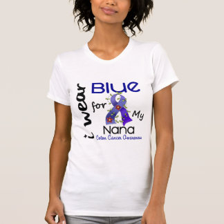 Colon Cancer I Wear Blue For My Nana 43 Tanktops