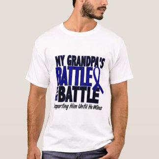 Colon Cancer MY BATTLE TOO 1 Grandpa T-Shirt