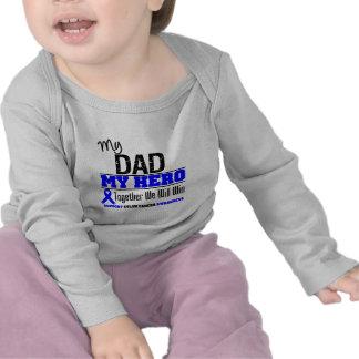 Colon Cancer My Dad My Hero T Shirts