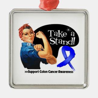 Colon Cancer Take a Stand Ornament