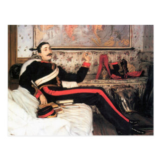 Colonel Frederick Gustavus Burnaby by James Tissot Postcard