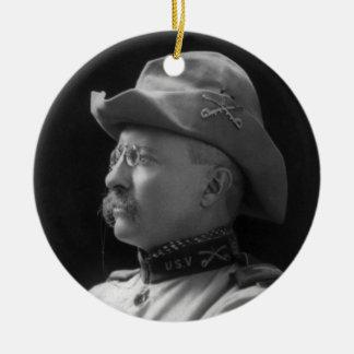Colonel Theodore Roosevelt from 1898 Ceramic Ornament