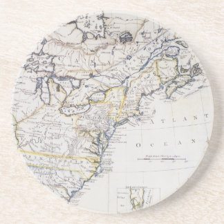 COLONIAL AMERICA: MAP, c1770 Coasters