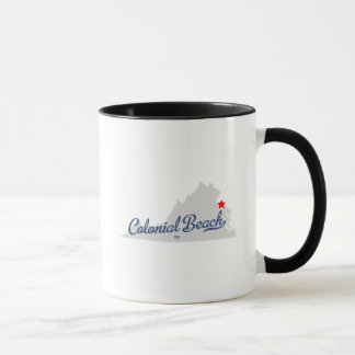 Colonial Beach Virginia VA Shirt Mug