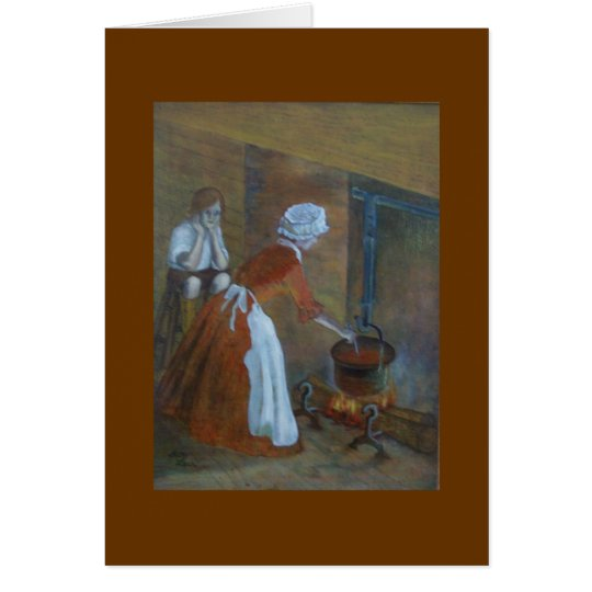 Colonial Cook Card