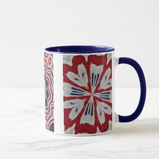 Colonial Flag Patriotic Trio Mug