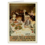 Colonial Holidays by Walter Tittle Greeting Card