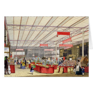 Colonial Produce in the Great Exhibition of 1851, Greeting Card