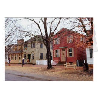 Colonial Shops - Williamsburg Card