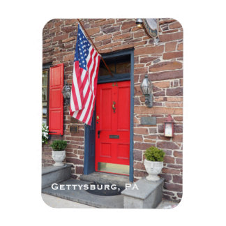 colonial style house in Gettysburg Pennsylvania Magnet