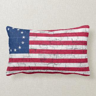 COLONIAL USA FLAG PILLOW