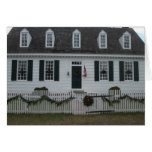 Colonial Williamsburg 18th century building Greeting Card