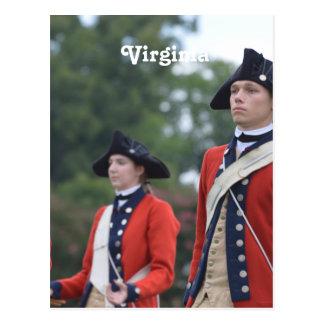 Colonial Williamsburg Postcard