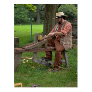 Colonial Woodworking Postcard